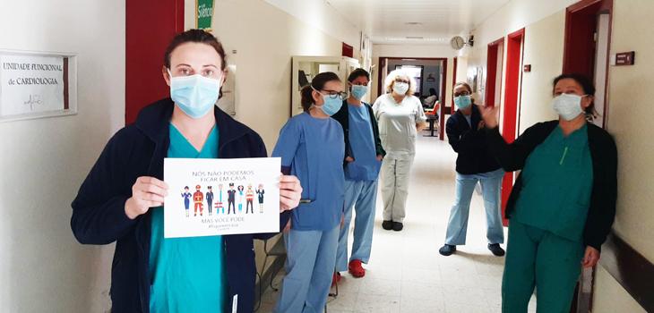 """""""Fique em Casa"""" - Hospital de Elvas"""