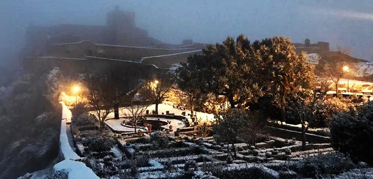 Nevou no Alentejo - Marvão